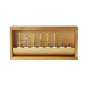 8 Piece Ball Nosed Carving Set
