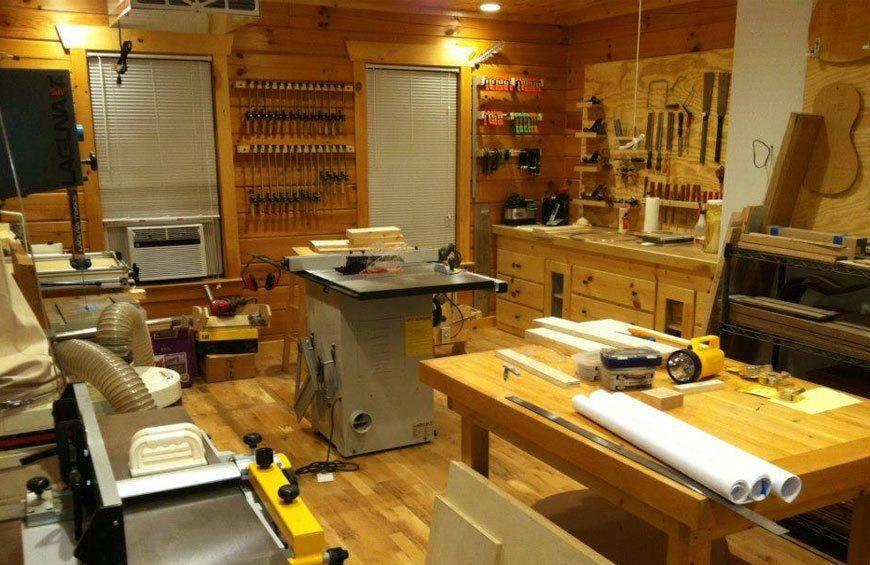 Chuck Marfione Wood Workshop Laguna Tools The Best Woodworking