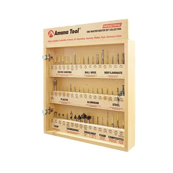 CNC Router Master Tooling Kit