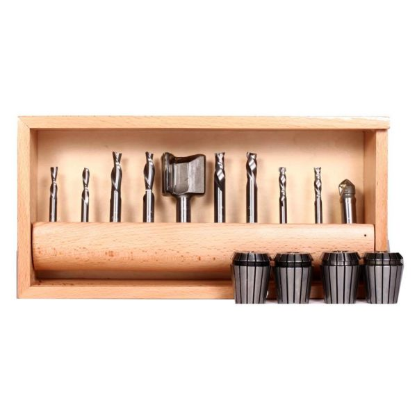 SmartShop II Tooling Kit with bits and collets