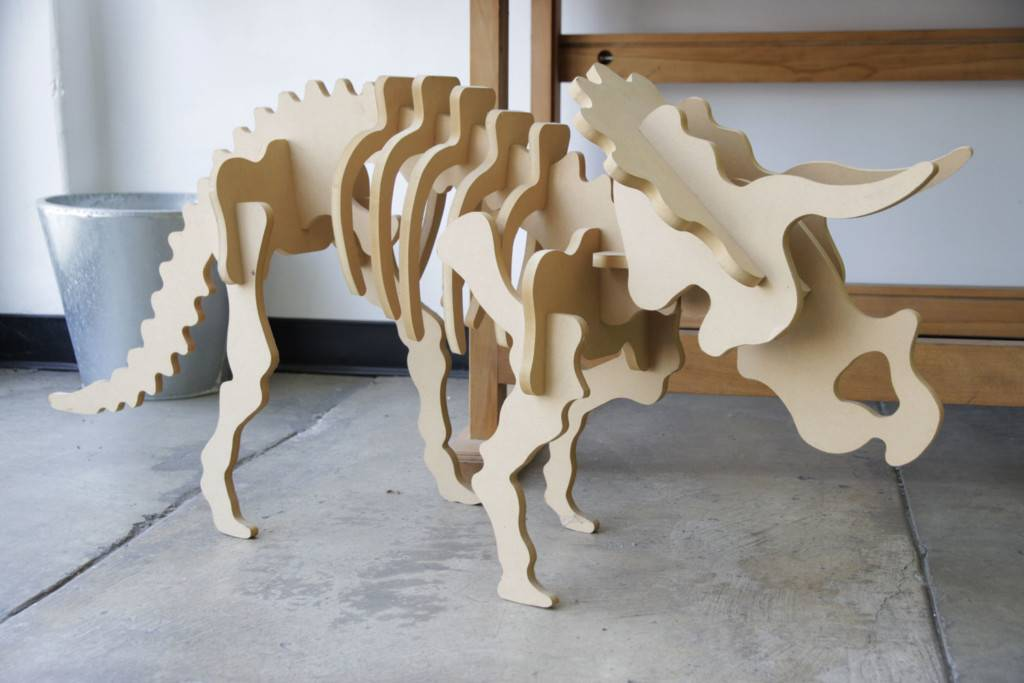 Dinosaur cut on Laguna SmartShop CNC Router