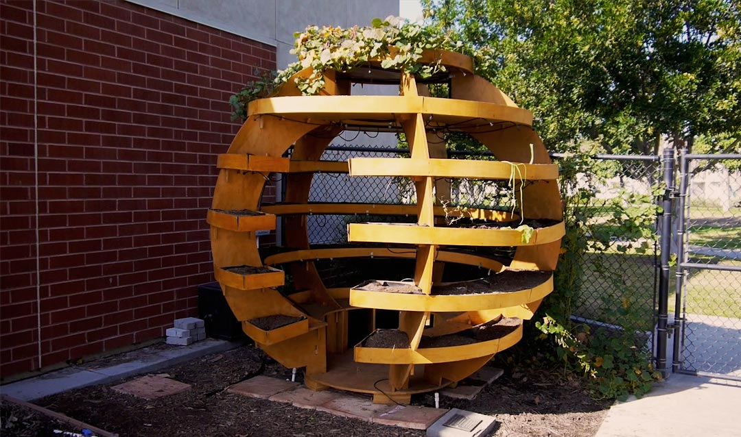 Deerfield Elementary School Grow Globe