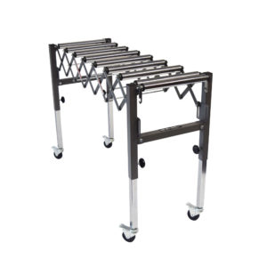 expandable roller stand conveyor