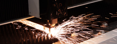 Metal cutting on Laguna Fiber CNC Laser