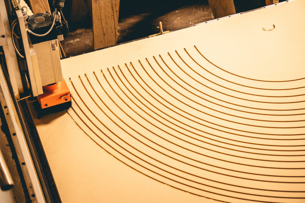 mdf sign on cnc router