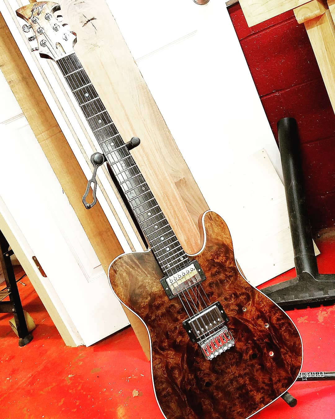 Custom guitar work from Sean Ferry by his custom guitar business Frey Customs